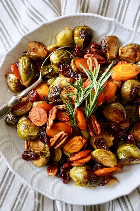 سبزیجات برشته در فر را چگونه درست کنیم؟