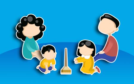کنترل سلامت روان کودکان از سوی والدین