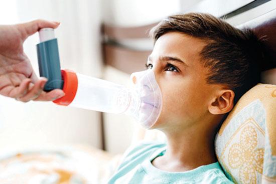 راههای مقابله با حملهی آسمی در هوای آلوده