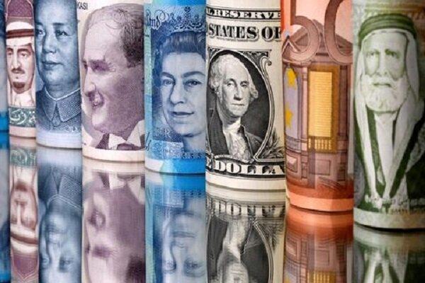 کاهش نرخ رسمی ۳۳ ارز