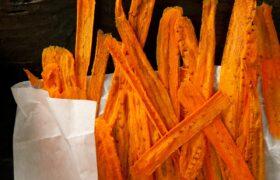 طرز تهیه چیپس هویج ترد و خوشمزه