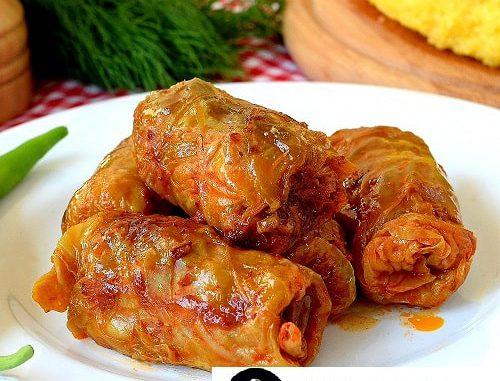 دلمه کلم/غذاهای رومانی