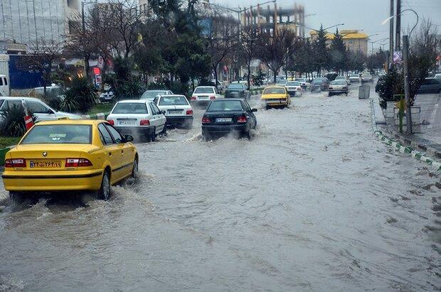 بارش های سیلابی در تهران