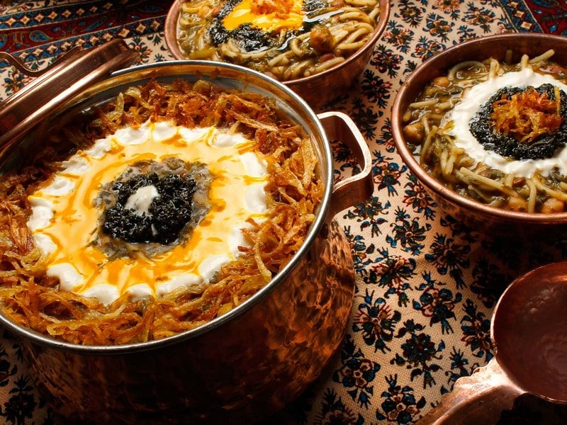 غذاهای محلی استان تهران و طرز تهیه آن ها