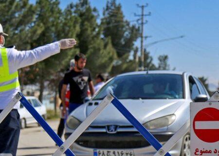 ممنوعیت تردد خودرویی در مازندران از سهشنبه تشدید میشود
