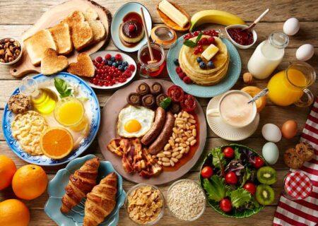 انواع صبحانه های سالم ساده و خوشمزه