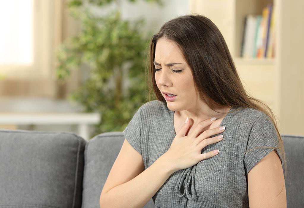 علائم تنگی نفس در بارداری