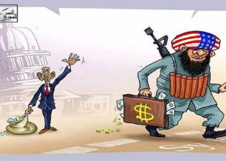 نعل وارونه مایک پمپئو و حمایت همیشگی آمریکا از تروریستهای منطقه