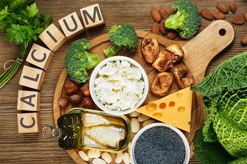 مصرف کلسیم و ویتامین D