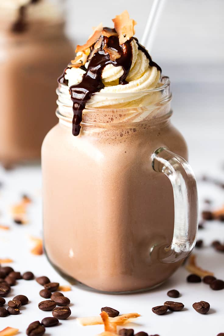 طرزتهیه موکا فراپه قهوه