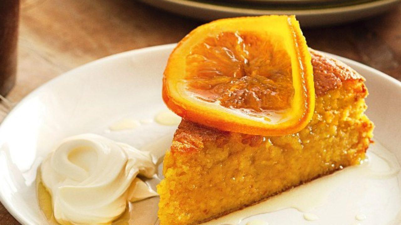 کیک خیس پرتقالی درست کنید، یک کیک عالی و خوشمزه!