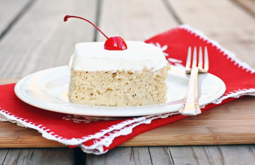 آموزش تهیه کیک سه شیر مرحله به مرحله