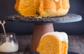 طرز تهیه کیک هویج ایتالیایی با کرم ماسکارپونه