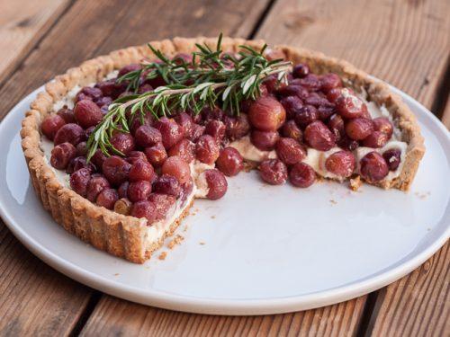 طرز تهیه پای انگور یک دسر خوشمزه تابستانه