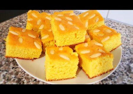 طرز تهیه کیک صفوف/افطاری شب پنجم ماه رمضان