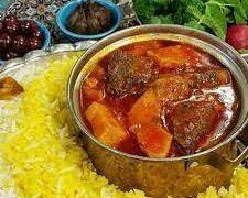 طرز تهیه خورشت آلوچه/افطاری روز هفتم ماه رمضان