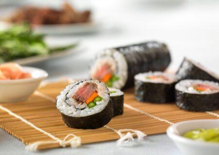 طرز تهیه سوشی در خانه با طعمی دلپذیر