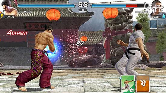 بررسی بازی موبایل Tekken