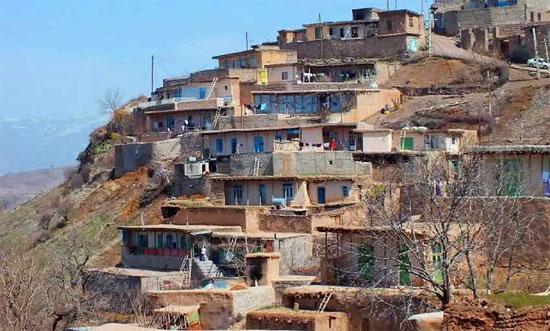 مجتمع اندبیل خلخال، روستاهای بخش شاهرود