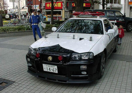 آشنایی با ماشین پلیسهای ژاپن