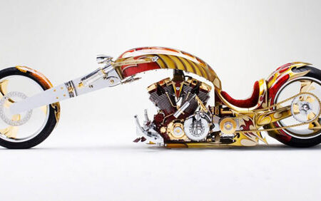 نامتعارفترین موتورسیکلتهای جهان با قیمت چند میلیون دلاری