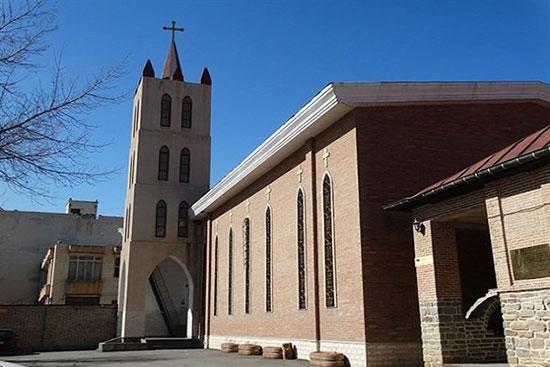 کلیساها و بناهای باستانی مسیحیان در ایران