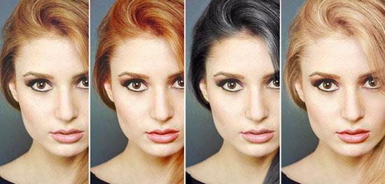 چه رنگ مویی به پوست شما می آید؟