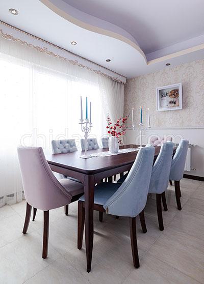 ترکیب رنگ صورتی، خانه صد متری مهیا و علی در کرج!