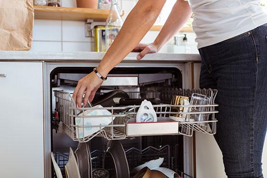 روش های تمیز کردن ماشین ظرفشویی