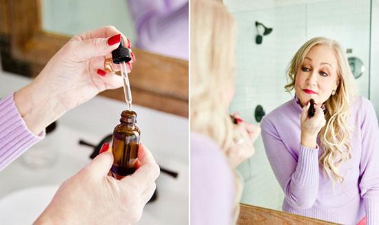 کاهش پیری پوست با اسانس های روغنی