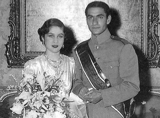 ازدواج محمدرضا پهلوی