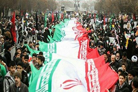 ساعت شروع ومسیر های راهپیمایی ۲۲ بهمن در تهران