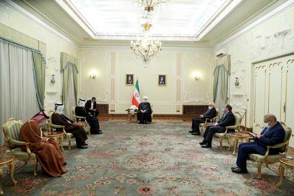 استقبال ایران از گفتگو با کشورهای حوزه خلیج فارس / سیاست فشار حداکثری شکست خورده است (+تصاویر)