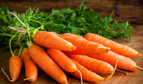 اصول نگهداری هویج در یخچال