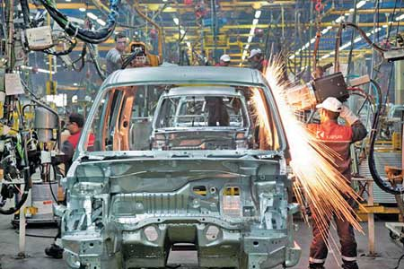 تولید خودرو در داخل کشور