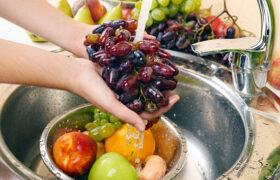 نحوه ی صحیح ضدعفونی کردن میوه و سبزی