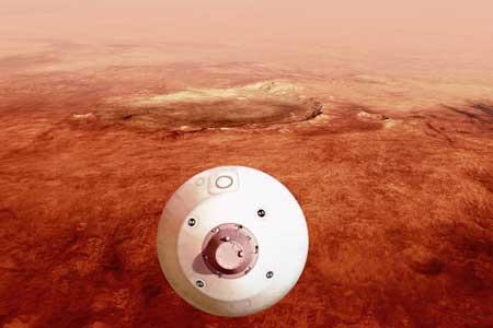 «استقامت» آماده فرود بر مریخ است (+عکس)