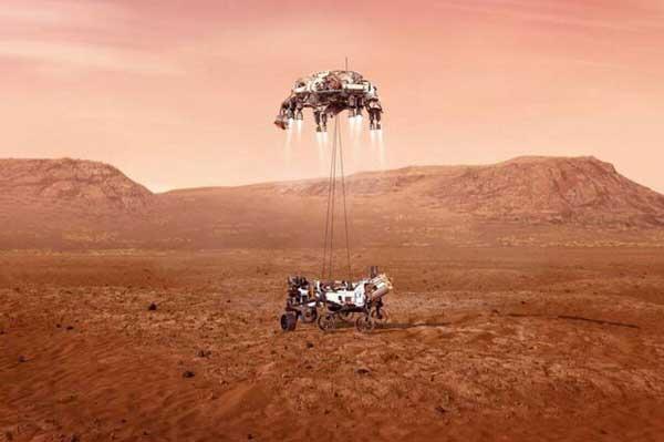 «استقامت» آماده فرود بر مریخ است