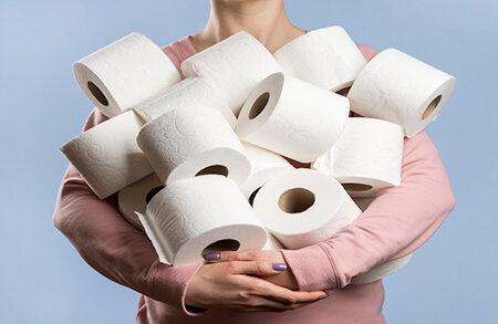 از دستمال توالت برای خشک کردن ناحیه تناسلی استفاده کنیم؟