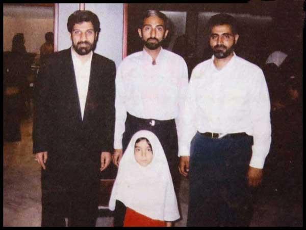 مداح جبههها در کنار حاج قاسم سلیمانی (+عکس)