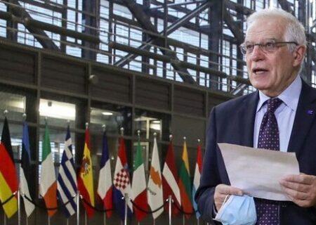 نشست وزرای خارجه اتحادیه اروپا درباره بازگشت آمریکا به برجام