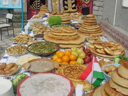 عید نوروز در تاجیکستان وغذاهای سنتی