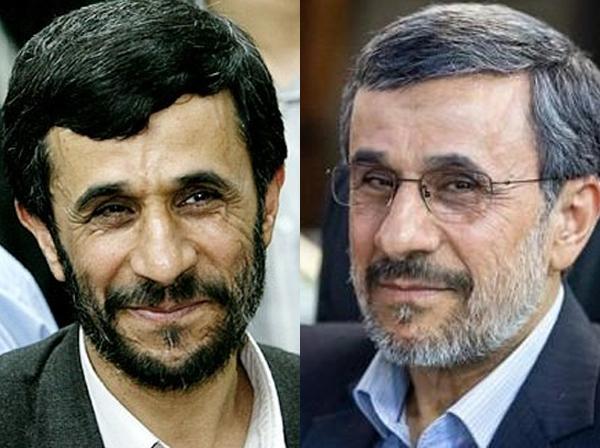 احمدی نژاد در گذر زمان