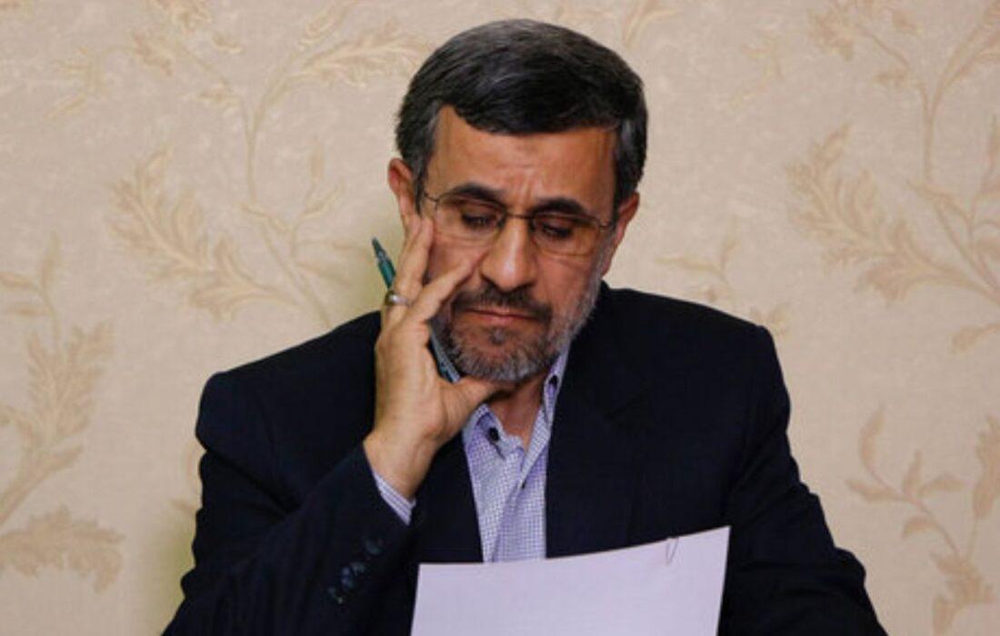 محمود احمدی نژاد و انتخابات 1400 ؟؟!!!