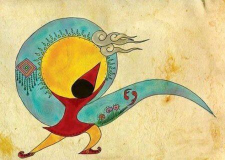 نقاشی سفره هفت سین نوروز، جذاب و سرگرم کننده برای کودکان