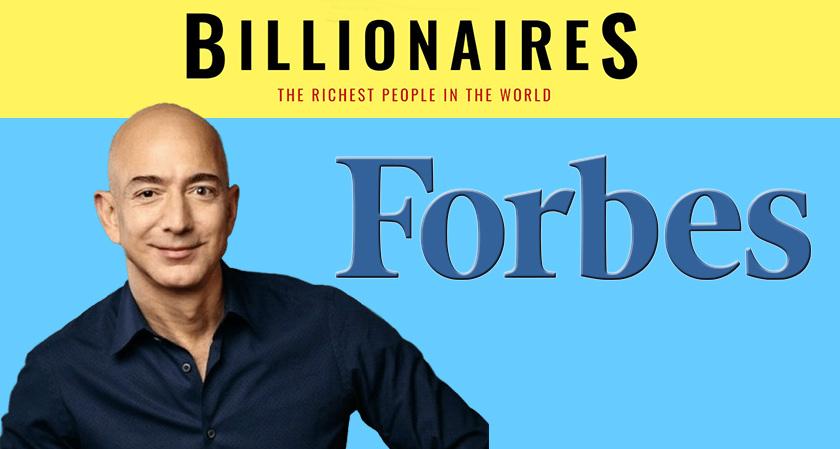 جدیدترین لیست ثروتمندترین افراد جهان منتشر شد