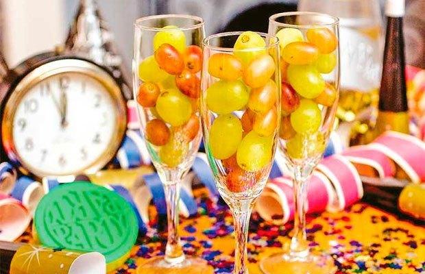 مراسمات غذایی سال نو در جهان