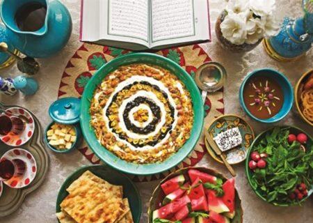 وعده های غذایی توصیه شده در ماه مبارک رمضان که مورد نیاز بدن است