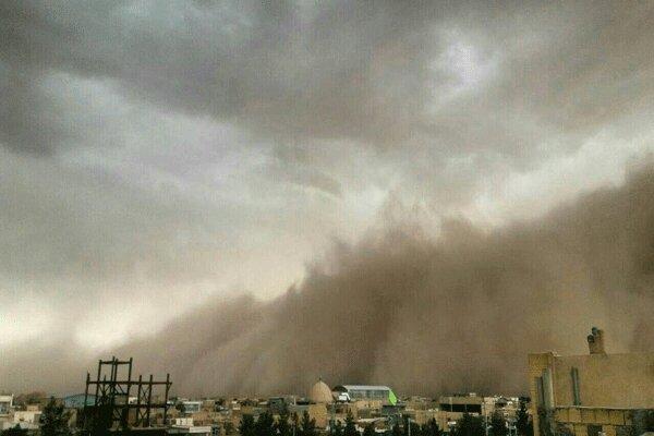 xطوفان در قزوین