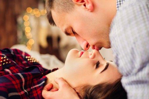 بوسیدن بینی